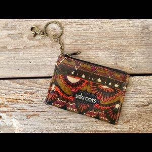 Sakroots keychain wallet, Sakroots ID wallet